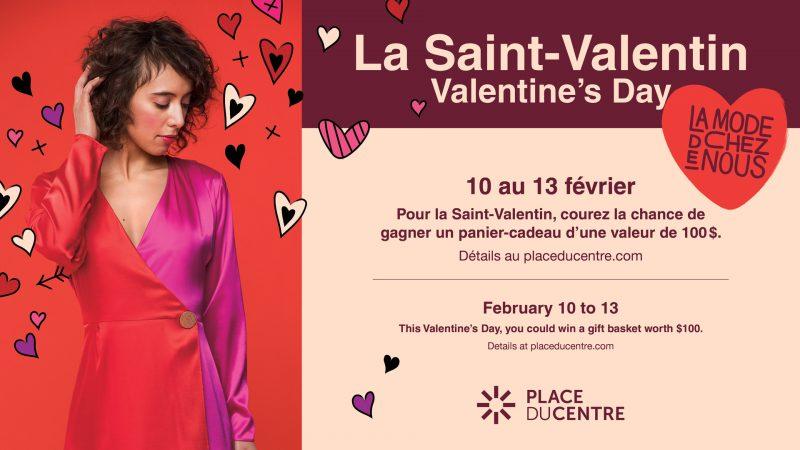Concours de la St-Valentin | Place du Centre